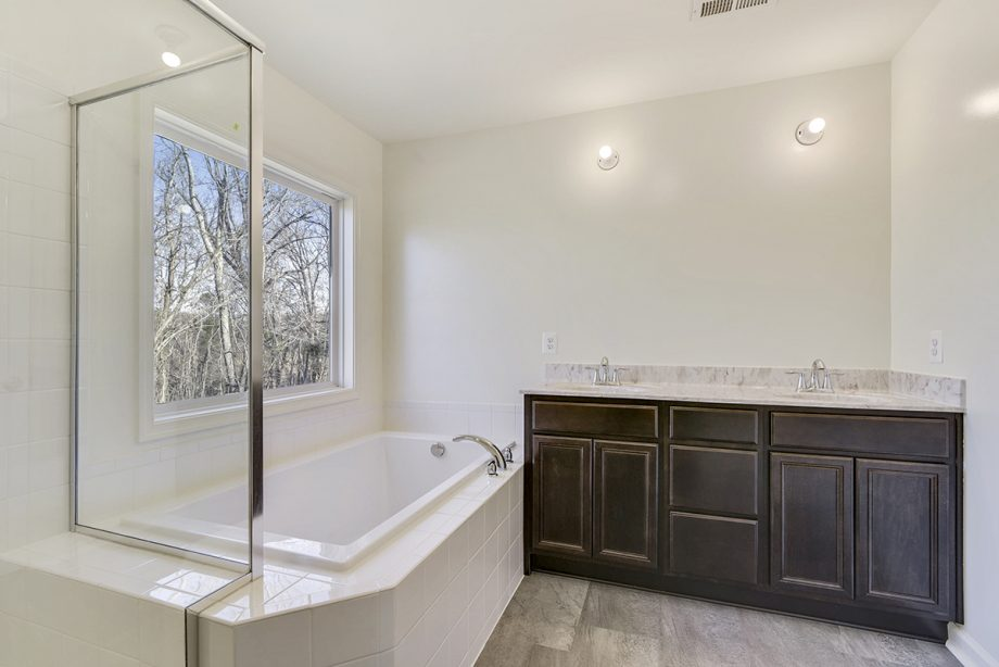 Custom - Master bathroom